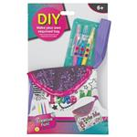Toy DIY Sequin Colouring Bags Assorted