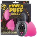 W7 Power Puff Buddy Beauty Sponges & Case Set