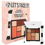 W7 Lets Face It! Face Palette Gift Set