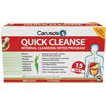 Carusos Quick Cleanse Internal Cleansing Detox Program 15 Day NEW