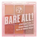 W7 Bare All! Uncovered 9 Pressed Pigment Eyeshadow Palette