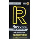 Revvies Energy Strips Extra Strength Cola Lemon Spark 5 Pack