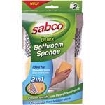 Sabco Duex Bathroom Sponge 2 Pack