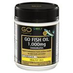 GO Healthy Fish Oil 1000mg Odourless 200 Capsules