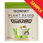 Sample IsoWhey Plant Based Shake Vanilla 55g