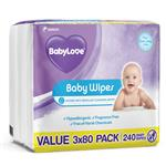 Babylove Everyday Wipes 240 Pack Online Only