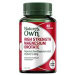 Nature's Own High Strength Magnesium Orotate 800mg 60 Capsules