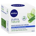Nivea Visage Pure and Natural Moisturising Day Cream 50ml