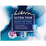 Libra Ultra Thins Pads No Wings Regular 16 Pack