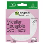 Garnier Micellar Reusable Eco Pads 3 Pack