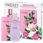 Yardley English Rose Eau de Toilette 50ml 2 Piece Set