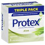Protex Antibacterial Bar Soap Aloe With Aloe Extract Dermatologist Tested 3 x 90g