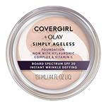 Covergirl Simply Ageless Wrinkle Defy Foundation Classic Ivory 210