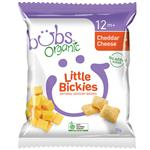 Bubs Organic Little Bickies Cheddar Cheese 30g