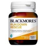 Blackmores Run Down Rescue 30 Tablets