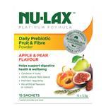 Nulax Platinum Daily Prebiotic Fruit Fibre Powder 15x5.5g Sachets