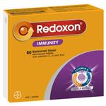 Redoxon Immunity Blackcurrant 60 Effervescent Tablets Exclusive Size