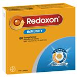 Redoxon Immunity Orange 60 Effervescent Tablets Exclusive Size
