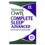 Nature's Own Complete Sleep Advanced 30 Tablets New