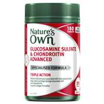 Nature's Own Glucosamine Sulfate & Chondroitin Advanced 180 Tablets