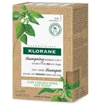 Klorane 2 in 1 Mask Shampoo Powder with Organic Nettle and Clay 3g x 8