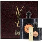 Yves Saint Laurent Opium Black Eau de Parfum 90ml 3 Piece Set