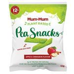 Mum-Mum Pea Snacks Apple & Cinnamon 12g
