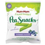 Mum-Mum Pea Snacks Blueberry 12g