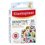 Elastoplast Sensitive Kids Animals 20 Pack
