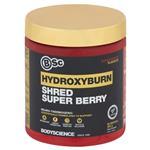 BSc HydroxyBurn Shred Neuro Thermogenic Super Berry Powder 300g