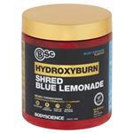 BSc HydroxyBurn Shred Neuro Thermogenic Blue Lemonade Powder 300g