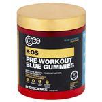 BSc K-OS Pre-Workout Blue Gummies 300g