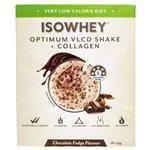 IsoWhey Optimum VLCD Shake + Collagen Chocolate Fudge 18 x 55g