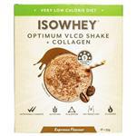 IsoWhey Optimum VLCD Shake + Collagen Espresso 18 x 55g