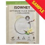 Sample: IsoWhey Optimum VLCD Shake + Collagen French Vanilla 55g