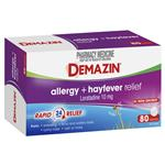 Demazin Allergy + Hayfever Relief Non-Drowsy 80 Tablets Exclusive Size