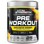 VitalStrength Pre Workout Powder Mango Lemonade 225g