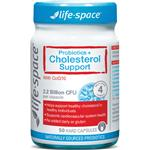 Life Space Probiotic + Cholesterol Support 50 Capsules