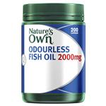 Natures Own Fish Oil Odourless 2000mg 200 Capsules