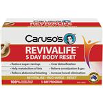 Carusos Revivalife 5 Day Reset Kit 30 Tablets