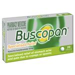 Buscopan Tablets 10mg 20 Pack - Stomach Pain Relief