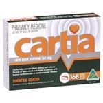 Cartia 100mg Tablets 168