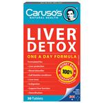 Carusos Natural Health Quick Cleanse Liver Clear Detox 30 Tablets