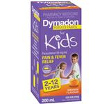 Dymadon for Kids Orange 2 years - 12 years 200mL