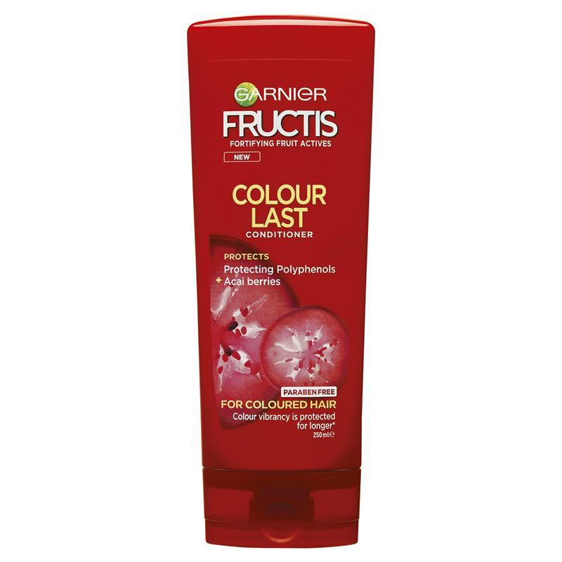 Garnier Fructis Fortifying Conditioner - Coloured or Highlighted Hair 250mL at Chemist Warehouse in Campbellfield, VIC | Tuggl