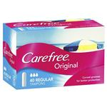 Carefree Tampons Regular 40