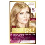 L'Oreal Paris Excellence Permanent Hair Colour - 8.3 Golden Blonde (100% Grey Coverage)