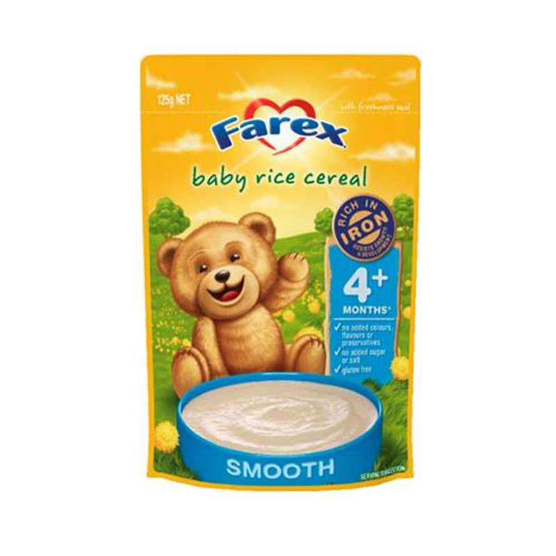 Buy Farex Baby Rice Cereal 125g Online At Chemist Warehouse®