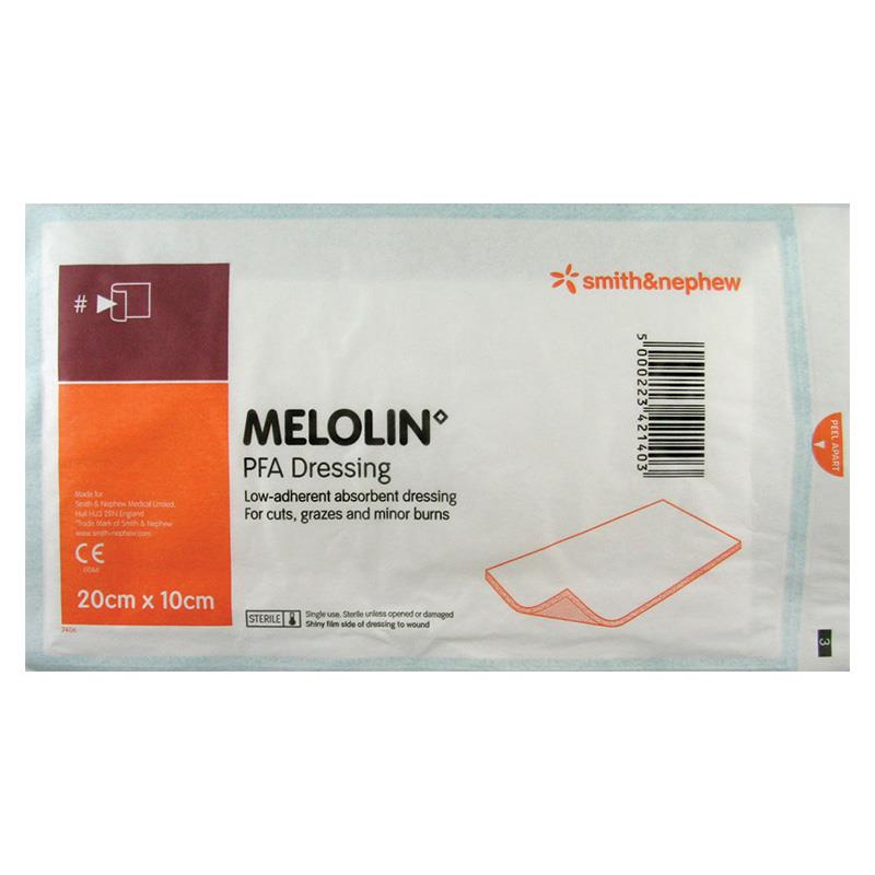 Buy Melolin 10 X 20cm Single Dressing Online At Chemist