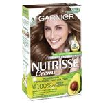 Garnier Nutrisse Permanent Hair Colour - 6 Acorn (Enriched with 4 Natural Oils)
